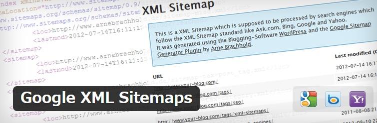 Google XML Sitemapsのロゴ
