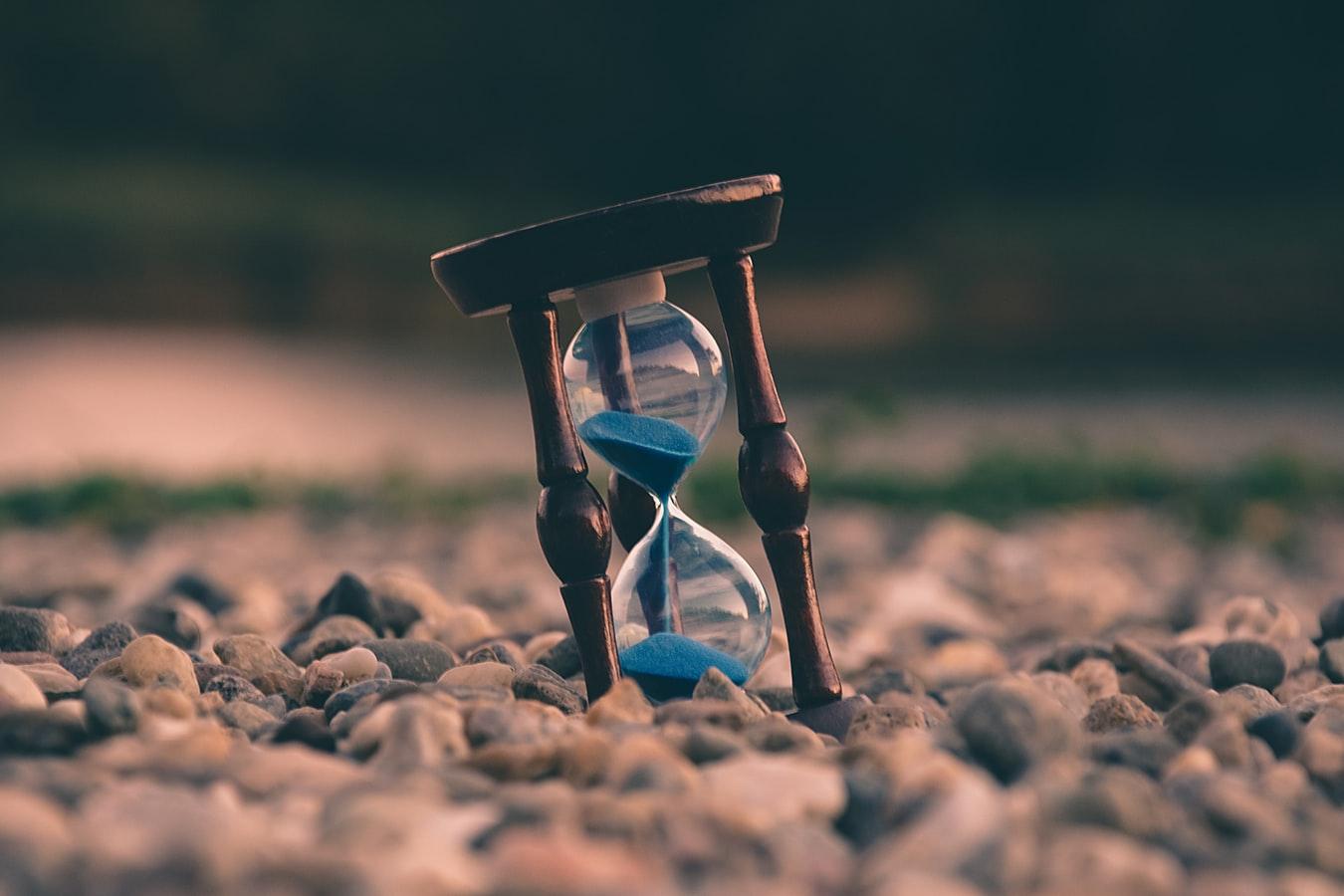 砂時計にはリラックス効果がある