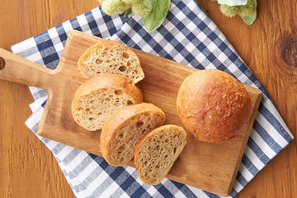 輪切りのふすまパン