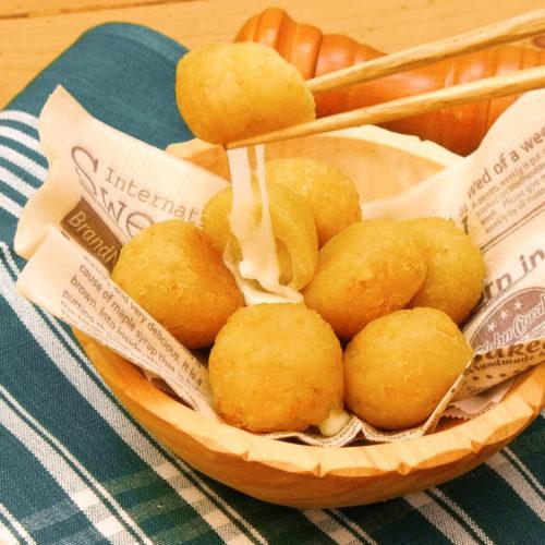 サッポロポテトのチーズボール